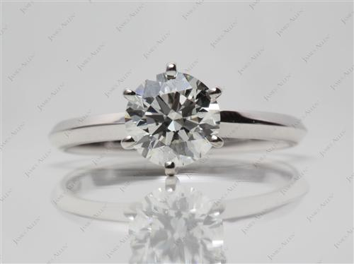 White Gold  Solitaire Ring Designs