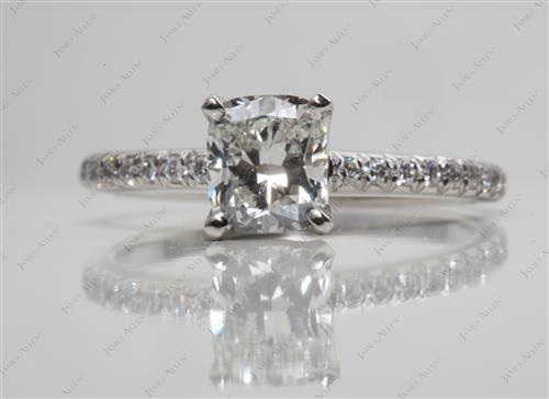 Platinum  Pave Setting Rings