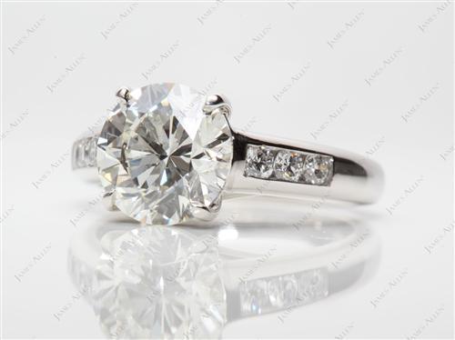Platinum  Channel Ring