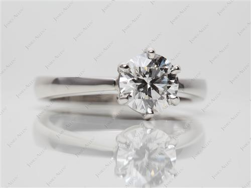 Platinum  Solitaire Ring Settings