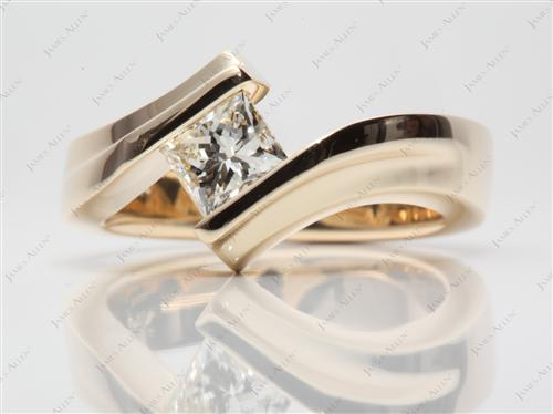 Gold  Tension Ring Settings