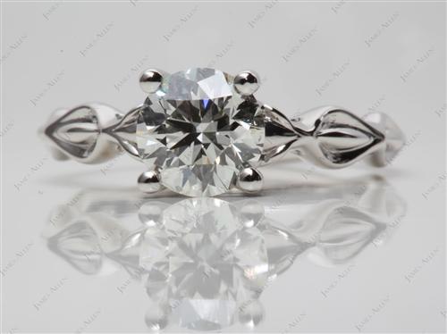 Platinum  Solitaire Ring Settings