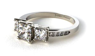 Three-Stone Engagement Rings