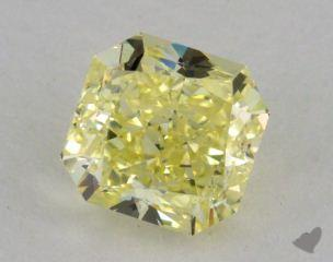 radiant1.80 Carat fancy yellowVS2