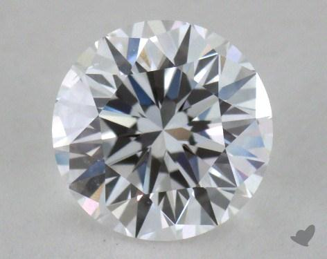 <b>0.90</b> Carat D-SI1 Very Good Cut Round Diamond