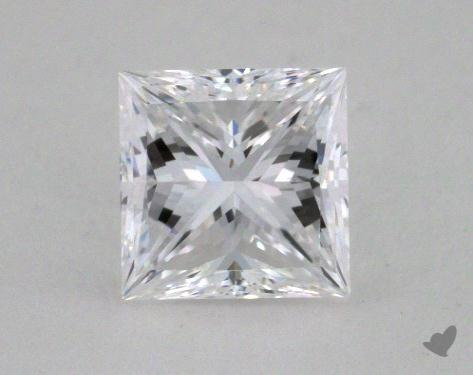 <b>1.00</b> Carat D-VVS2 Princess Cut Diamond