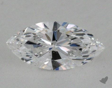 <b>0.91</b> Carat D-SI1 Marquise Cut Diamond