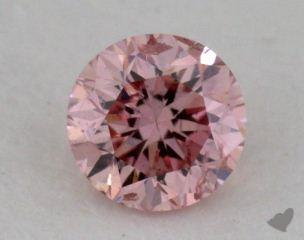 round0.20 Carat fancy pink
