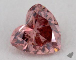 heart0.33 Carat fancy deep pink