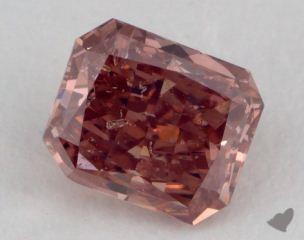 radiant0.61 Carat fancy deep pink