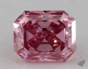 emerald0.53 Carat fancy intense purplish pinkVS1