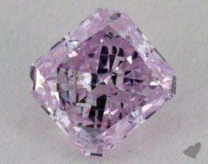 radiant0.41 Carat fancy purplish purple