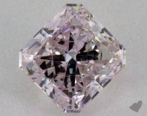 radiant0.75 Carat light pink