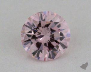 round0.32 Carat fancy light pink