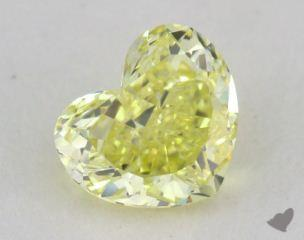 heart1.10 Carat  yellowVS2