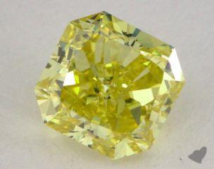 radiant1.58 Carat  yellowVS2
