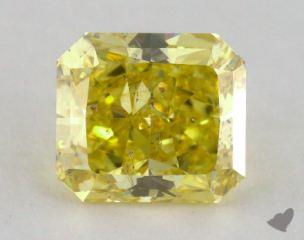 radiant2.90 Carat  yellowI1