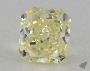 radiant1.16 Carat fancy light yellowSI2