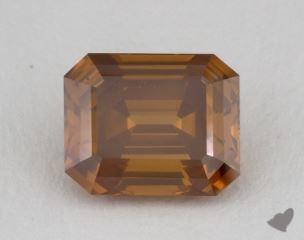 emerald5.09 Carat fancy deep brownish yellowish orange