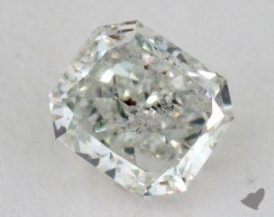 radiant0.50 Carat very light green