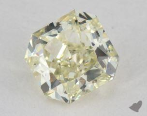 radiant0.81 Carat fancy light greenish yellowVS2