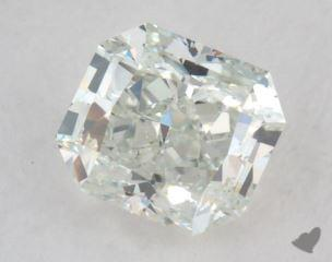 radiant0.80 Carat fancy light green