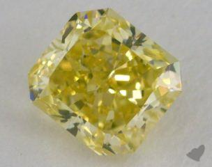 radiant1.41 Carat fancy intense greenish yellowSI1