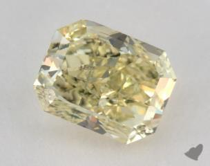 radiant1.44 Carat fancy greenish yellow