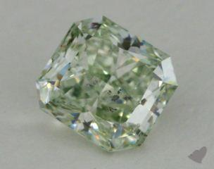 radiant2.31 Carat fancy green