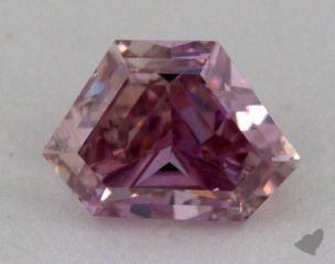 emerald0.37 Carat fancy intense purplish pinkSI1