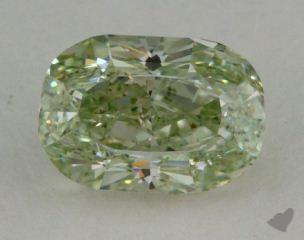 cushion0.73 Carat fancy greenVS2