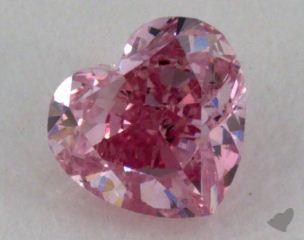 heart0.19 Carat fancy intense purplish pink