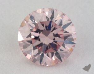 round0.22 Carat fancy light pink