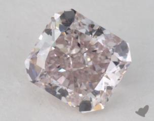 radiant0.82 Carat  pinkSI1