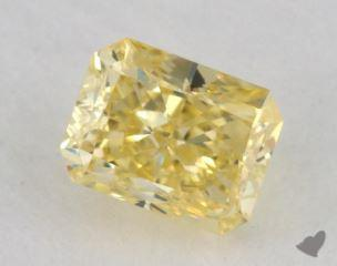 radiant0.50 Carat fancy intense yellow