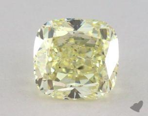 cushion2.55 Carat  yellowVS1