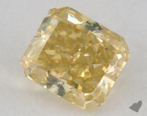 radiant1.07 Carat fancy intense yellow