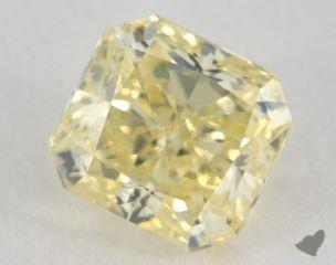 radiant1.24 Carat fancy yellowVS2