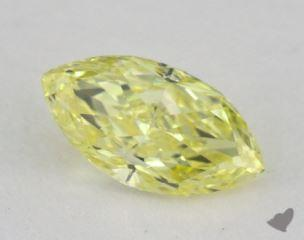 marquise0.56 Carat fancy yellow