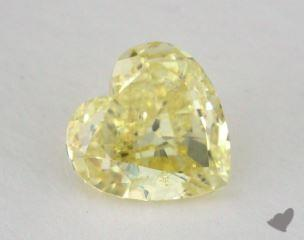 heart1.01 Carat fancy yellowSI1