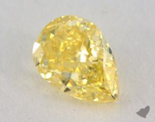 pear1.06 Carat fancy intense yellowVVS2