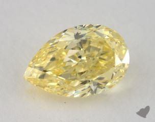pear1.51 Carat fancy intense yellowSI2