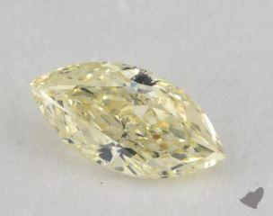 marquise0.49 Carat fancy light yellowSI1