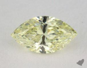 marquise0.50 Carat fancy light yellowSI1