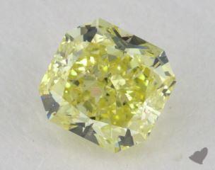 radiant0.60 Carat fancy yellowSI2