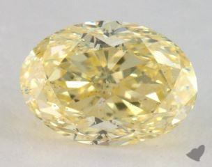 oval2.00 Carat fancy yellowSI1