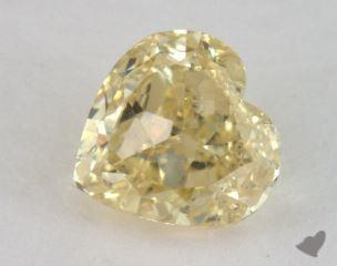 heart1.17 Carat fancy yellowSI2