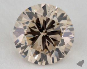 round1.27 Carat light brownSI1