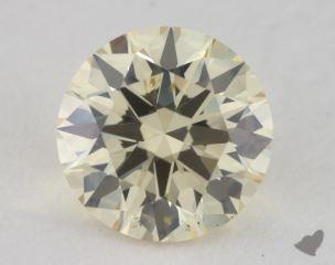 round1.25 Carat light yellowSI1