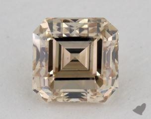 square emerald1.06 Carat fancy light brownVS2